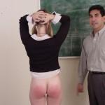 Naughty Schoolgirl Gets Hand Spanking From Teacher 06