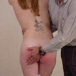 Naughty Schoolgirl Gets Hand Spanking From Teacher 11