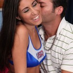 Sexy College Coed Cheerleader Get a Pussy Creampie 03