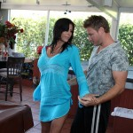Slutty MILF Alexis Fawx Spreads Her Legs for Her Stepson 01