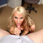 Big Tit Porn Queen Holly Halston Sucks & Strokes Cock 22