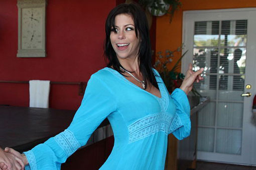 Slutty MILF Alexis Fawx Spreads Her Legs for Her Stepson