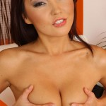 Sexy Asian Beauty Agnes Works Her Cute Tight Twat 10