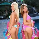 Teen Babes Vanessa Cage & Riley Reid Double Team Lucky SOB 01