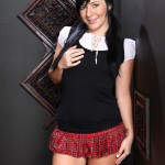 Sexy Schoolgirl Ashli Orion Slurping Cock For Her Salvation 01