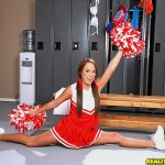 Haley Sweet's Hot Cheerleader Ass Gets Poked By Black Cock 01