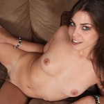 Luscious Young Izy-Bella Blu Masturbates On Hands And Knees 13