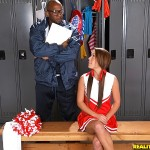 Haley Sweet's Hot Cheerleader Ass Gets Poked By Black Cock 05