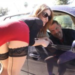Stocking Clad Street Slut Sheena Shaw Takes A Hard Choke Fucking 07