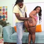Samone Taylor Enjoys Working Big Black Ass Down Monster Cock 01