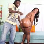 Samone Taylor Enjoys Working Big Black Ass Down Monster Cock 04