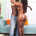 Samone Taylor Enjoys Working Big Black Ass Down Monster Cock 05