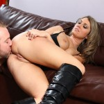 Leopard Skin Hooker Nina Rae Plays With Her Clit During Sex 05