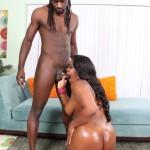 Samone Taylor Enjoys Working Big Black Ass Down Monster Cock 06